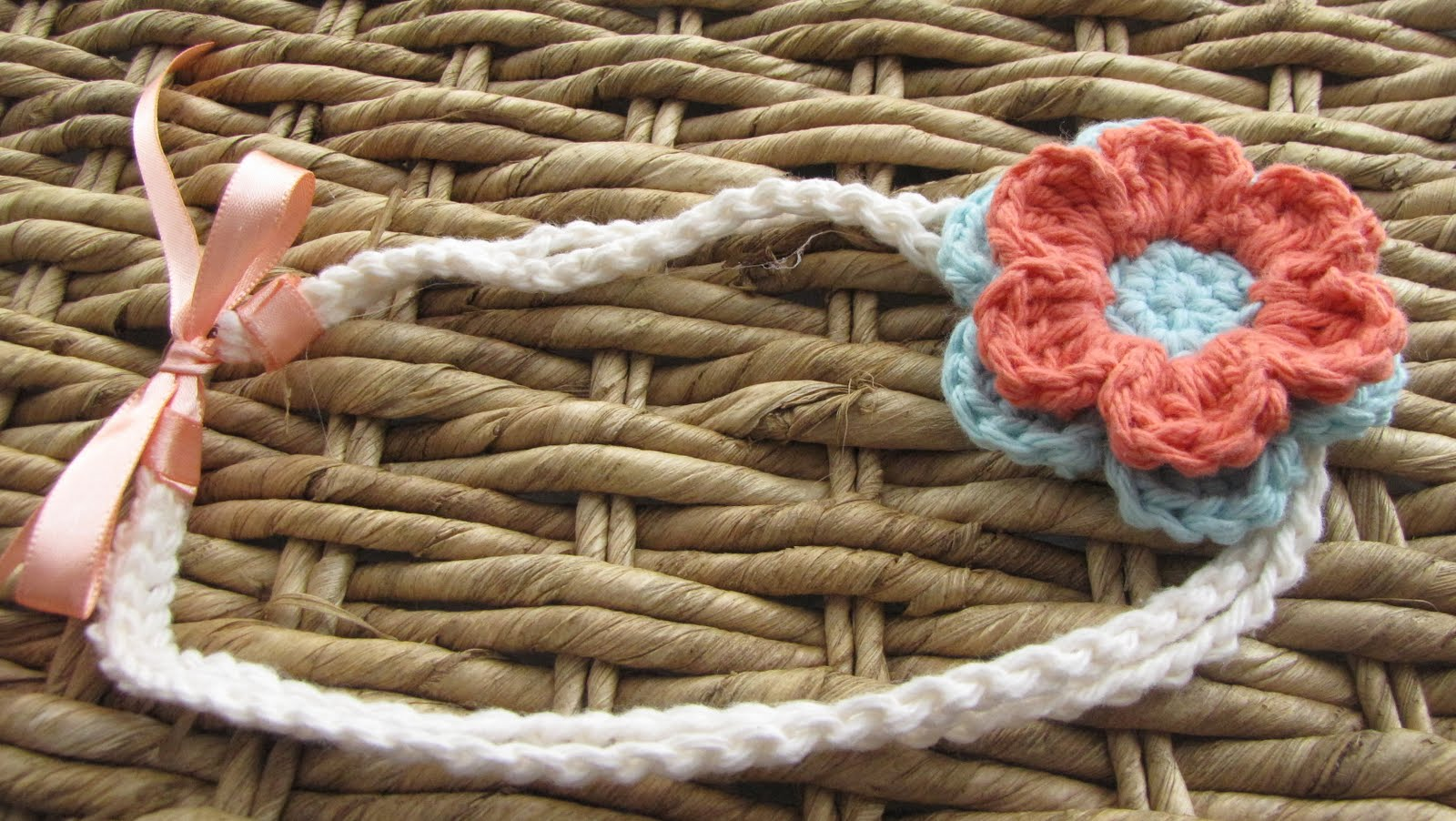 Crochet Headband With Flower Pattern Tutorial : Stay-At-Home-Moms-of-Etsy: Tuesday Tutorial - Crochet ...