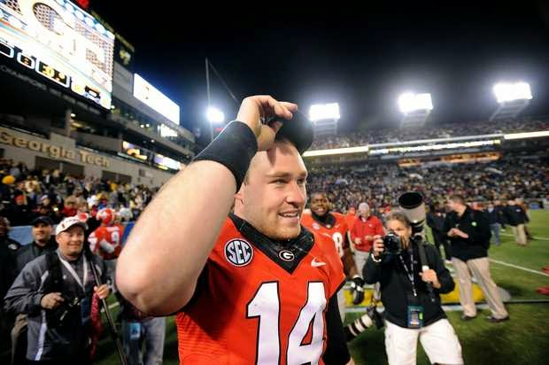 Georgia QB Hutson Mason taking social media sabbatical for 2014 season.