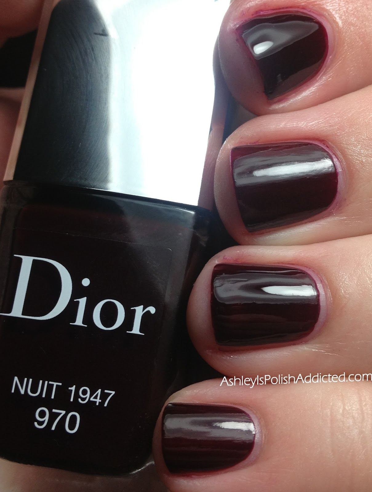 Ashley is PolishAddicted: Dior Nuit 1947 (970) - Swatches and Review ♥