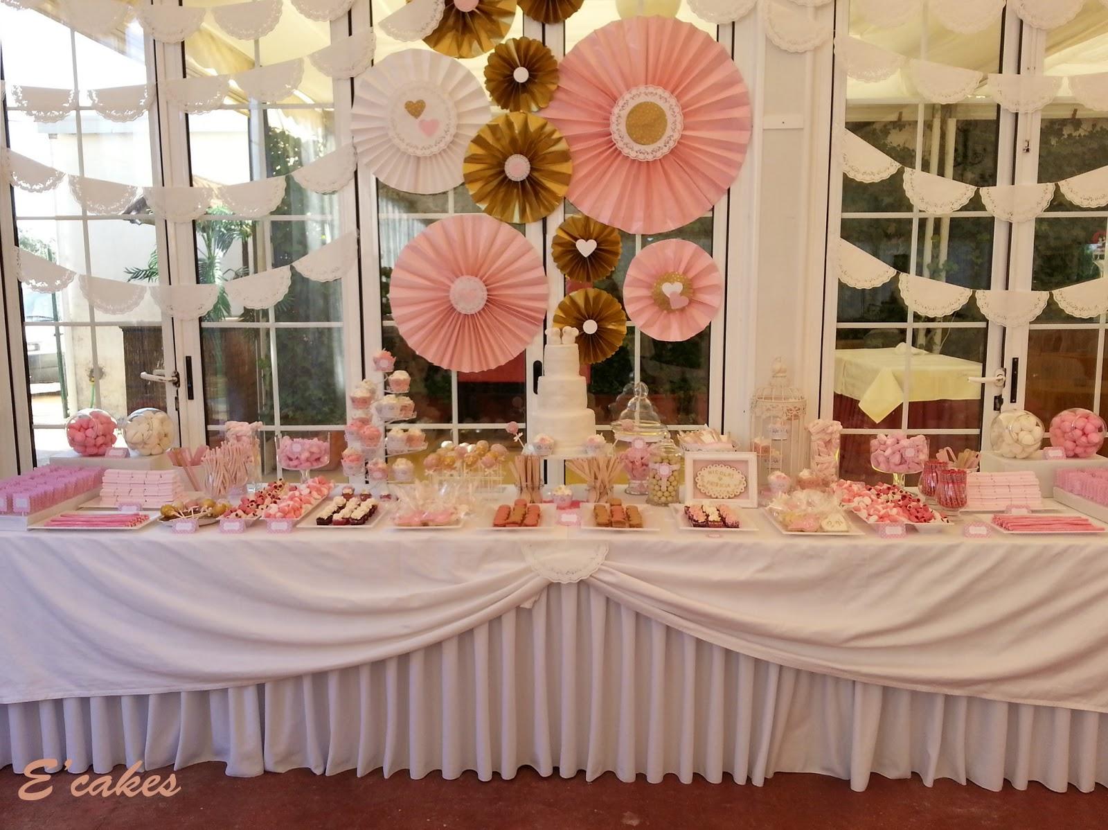 Harina y huevo junio 2013 for Mesa de dulces para boda