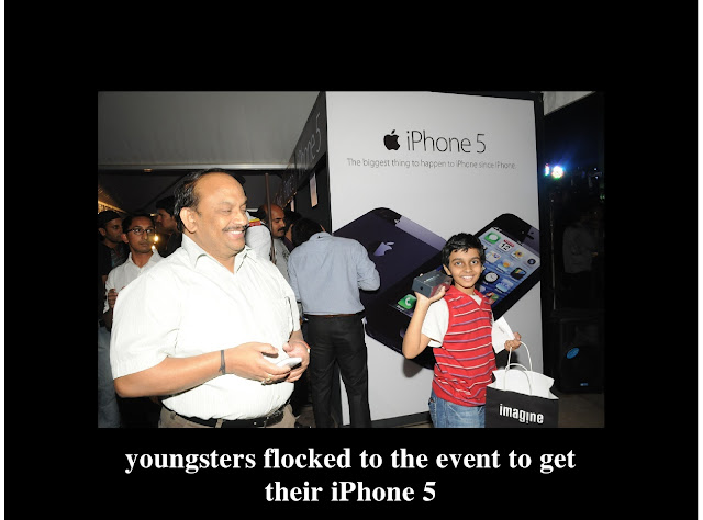 iPhone 5 India Launch - Puneet Narang - National Sales head- Redington India Ltd