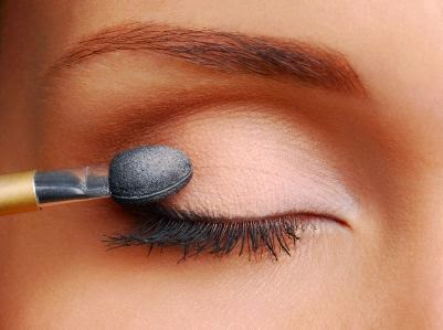 Makeup of the eyes