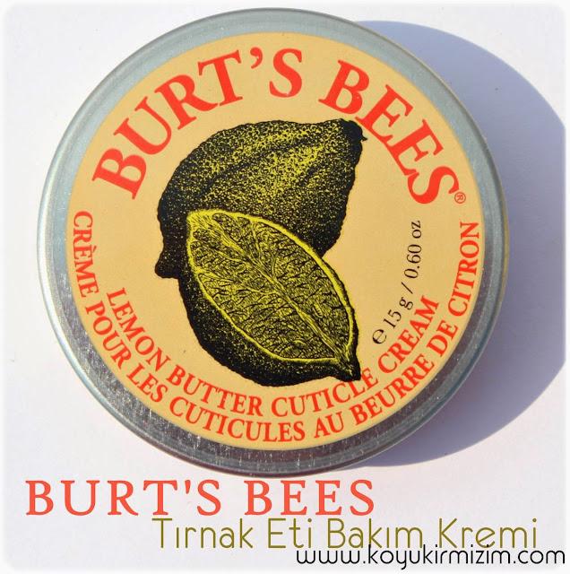 Burt's Bees Limon Yağı İçeren Tırnak Eti Bakım Kremi