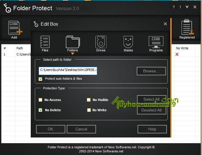 Folder Protect 2.0.0