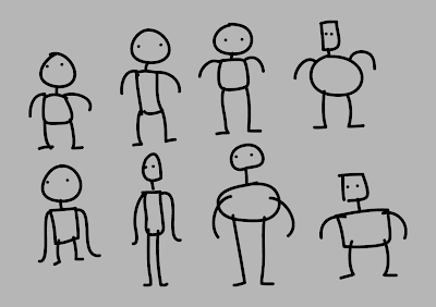 Intimidating pose reference randomizer