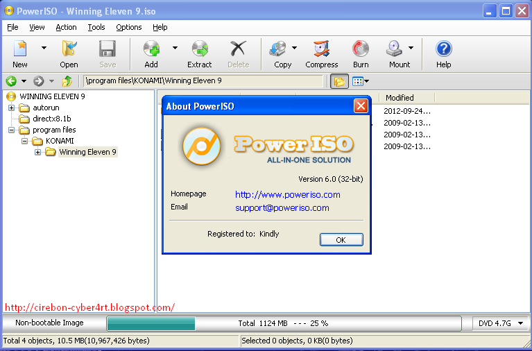 Free Download PowerISO Versi 6.0 Retail Full Patch