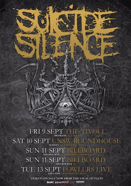 Suicide Silence Tours Jakarta - Bali Image