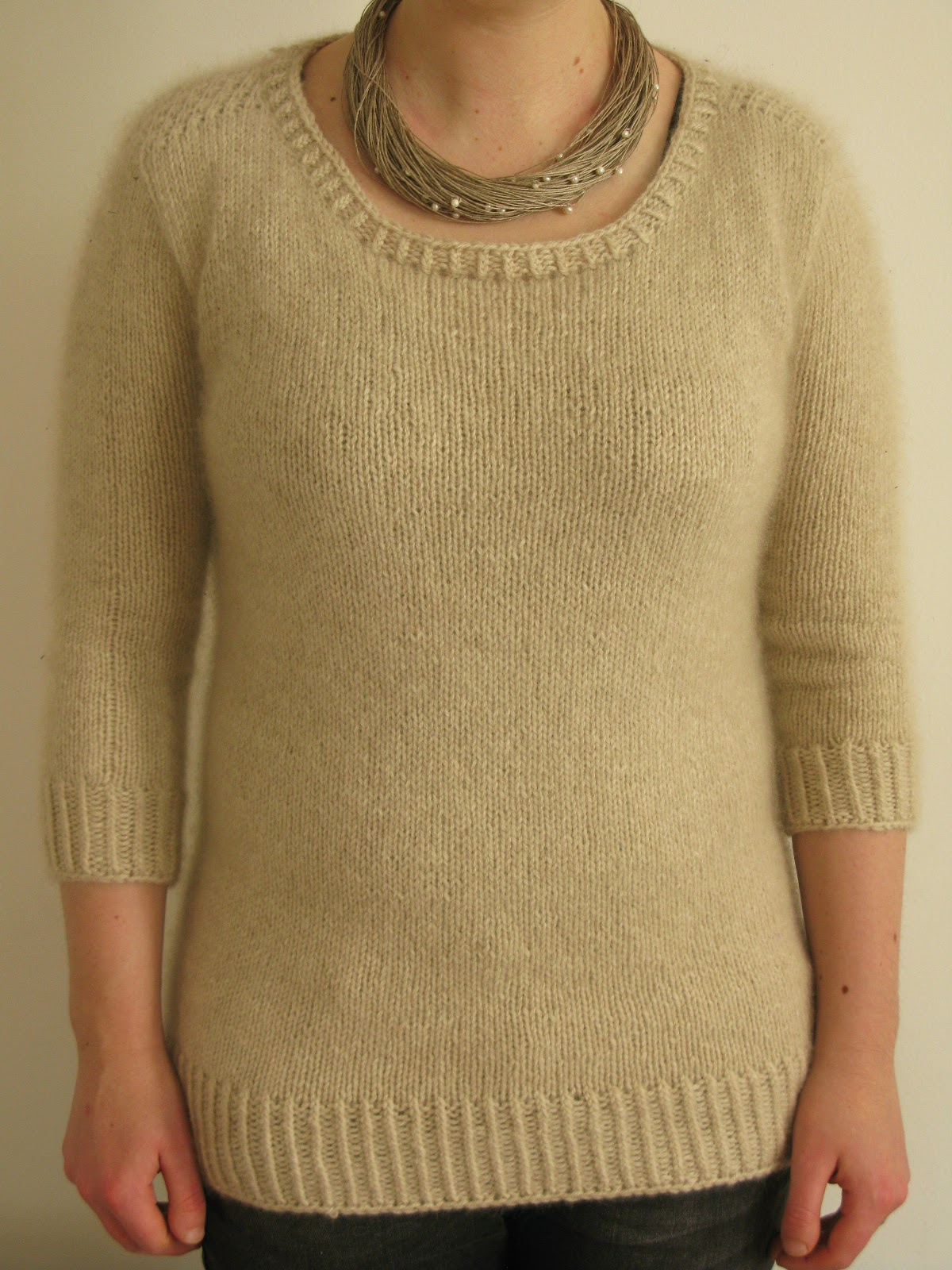 basic sweater knitting pattern
