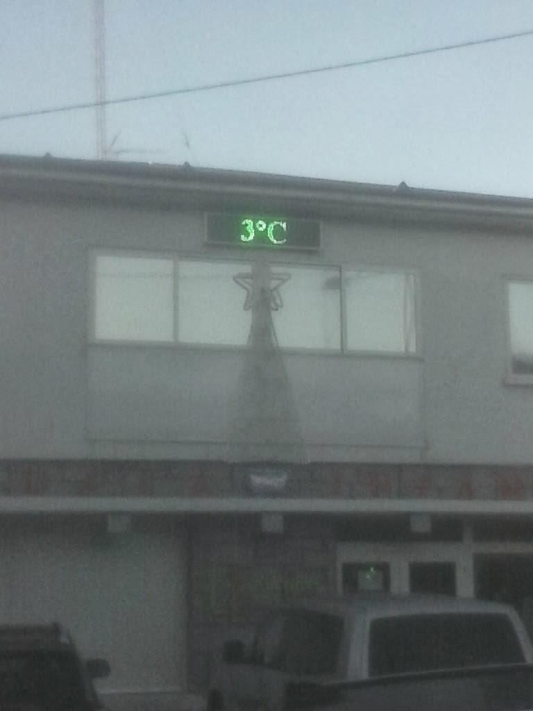 Fría mañana en Colmenarejo