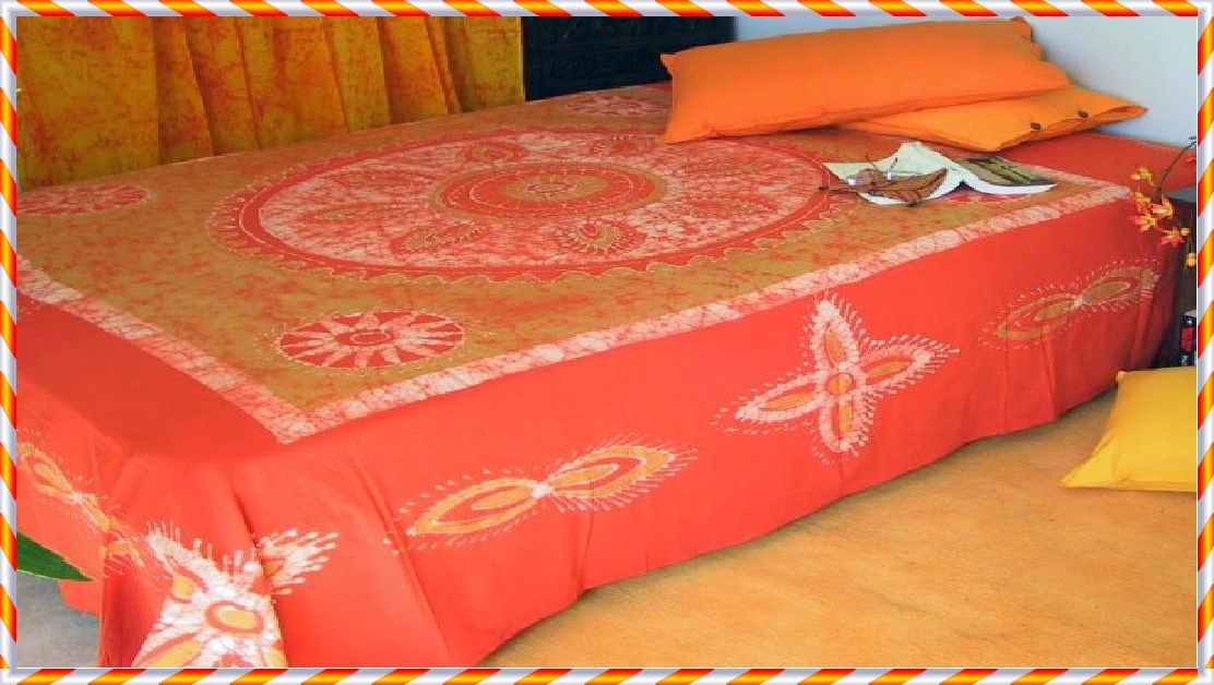 Its Totally Handprinted Cotton Material And Color Shown Here Might Be Vary  Slightly As Its An Image Only.