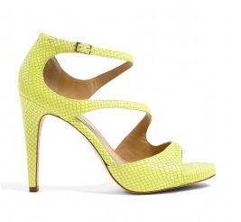 Bright high heel shoes