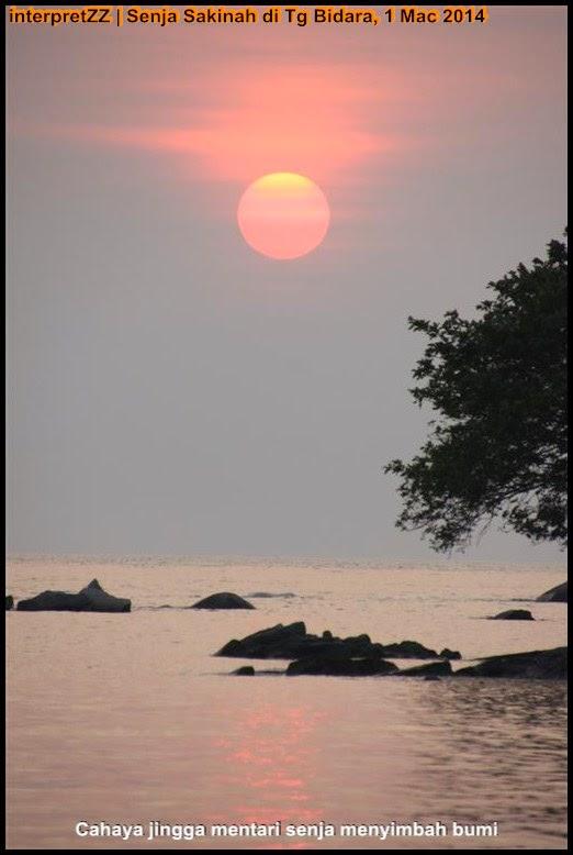 Senja Sakinah di Tanjung Bidara