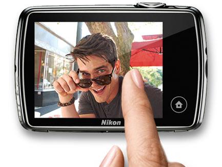 Nikon CoolPix Touch Screen Control Digital Camera