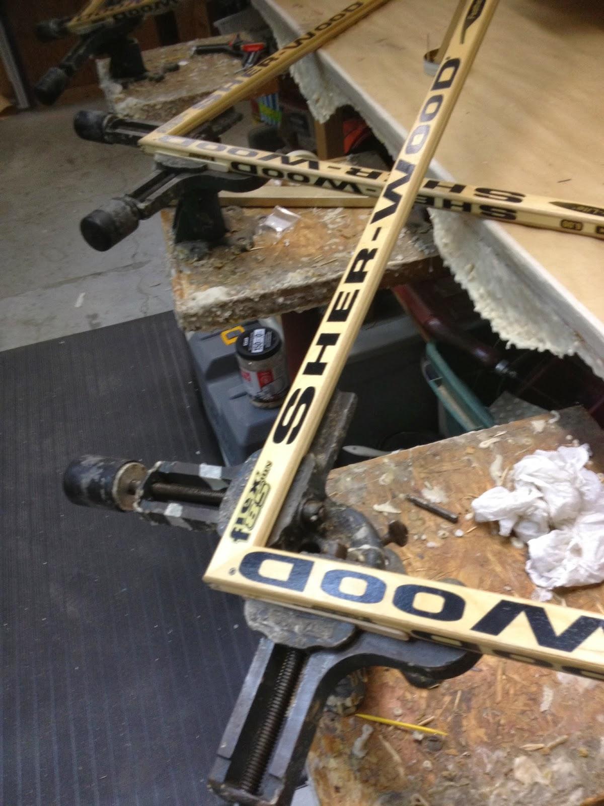 Hockey Stick Frame