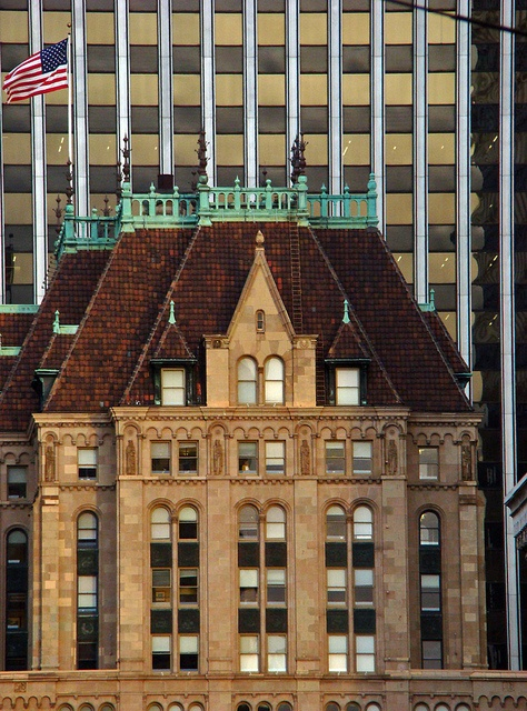 The Hunter-Dulin Building is a 25-story, 94 m (308 ft) class A office building in the financial district of San Francisco, California. The building is listed on the National Register of Historic Places. The building was totally restored and renovated between 1999 and 2001.  The building served as the West Coast headquarters for the National Broadcasting Company from 1927 to 1942; the executive offices were located on the 21st floor and the studio offices were located on the 22nd. The 22nd floor is currently occupied by peer-to-peer lending firm Prosper Marketplace.
