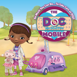 The Doc Mobile and Doc McStuffins tours cities across the country.