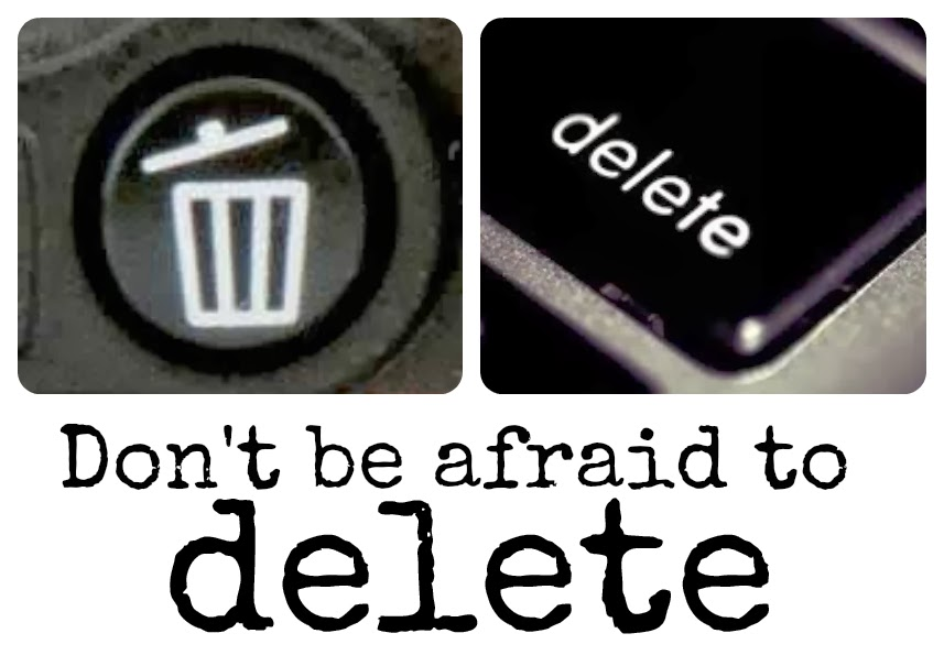 delete photos, keep digital photos under control, delete, why to delete photos