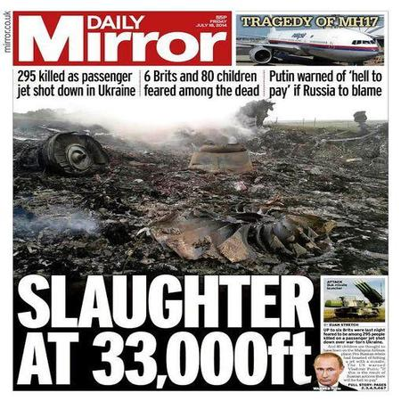 Daily Mail UK MH17