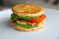 Pancake BLT Sandwich