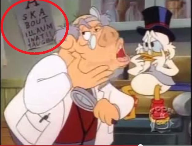 Disney Illuminati Duck Symbolism Morgofski
