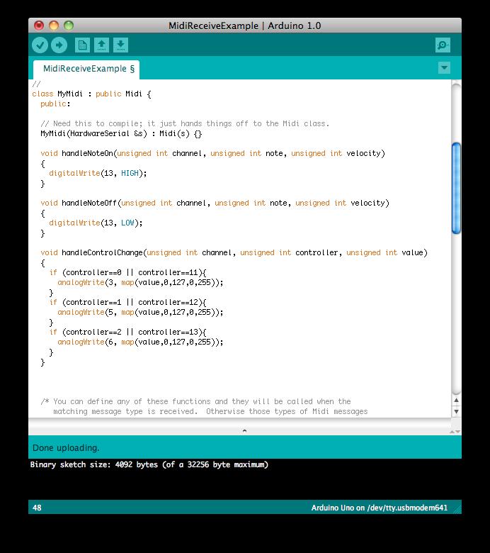 Tetrastyle Dev Blog Midi Library For Arduino 1 0
