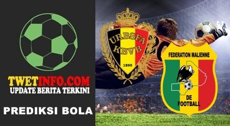 Prediksi Belgium U17 vs Mali U17