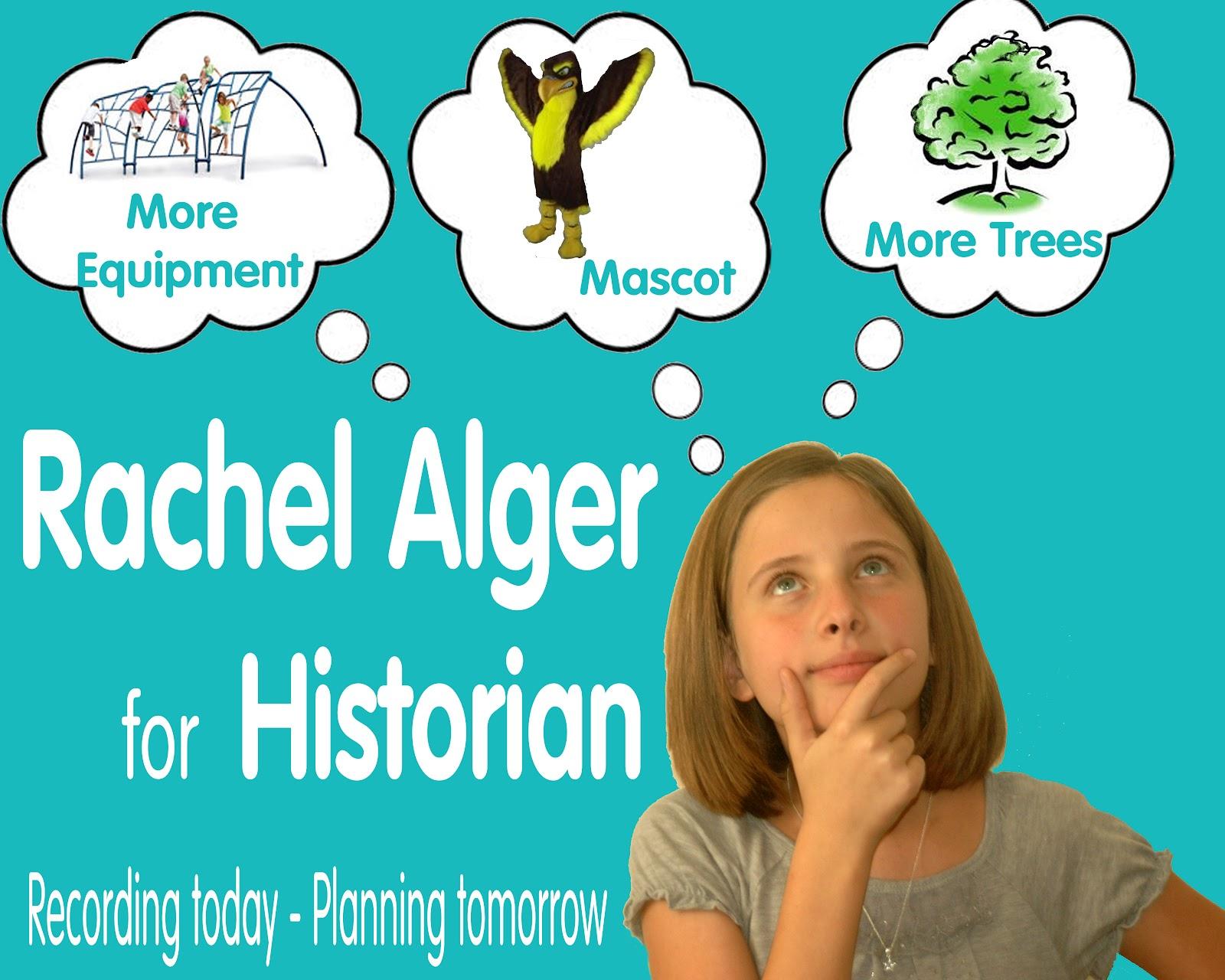 Poster Run For School Council Historian