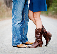 nothing but cowboy boots sets your spirit free*