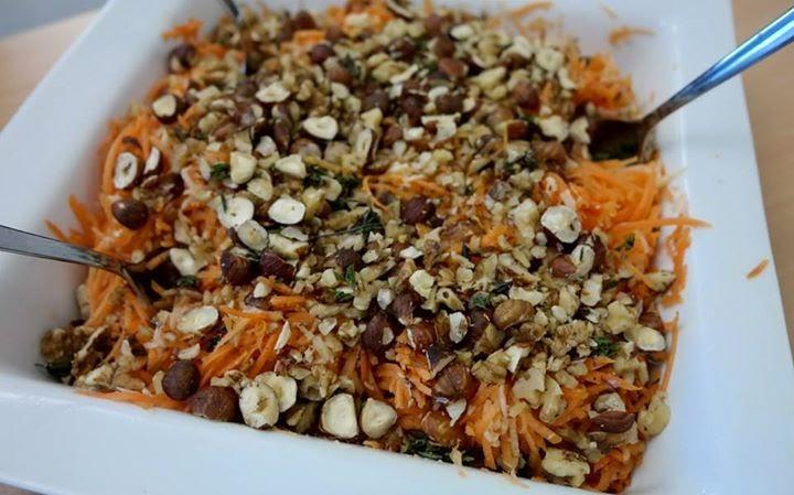 Зимний салат из морковки и белокочанной капусты