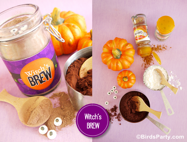 Ideas: Make Your Own Witch's Brew aka Pumpkin Spice Hot Cocoa Mix