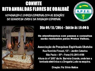 Convite da APEU