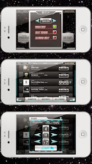 Screenshots of the BEAT MP3 for Android tablet, phone.