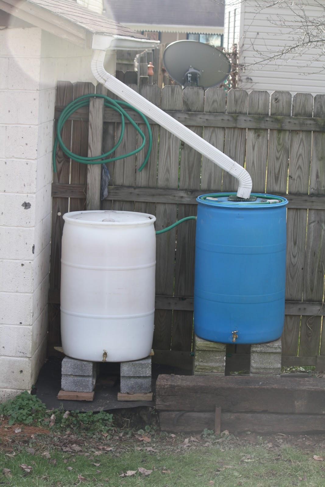 The Redeemed Gardener Making A Rain Barrel