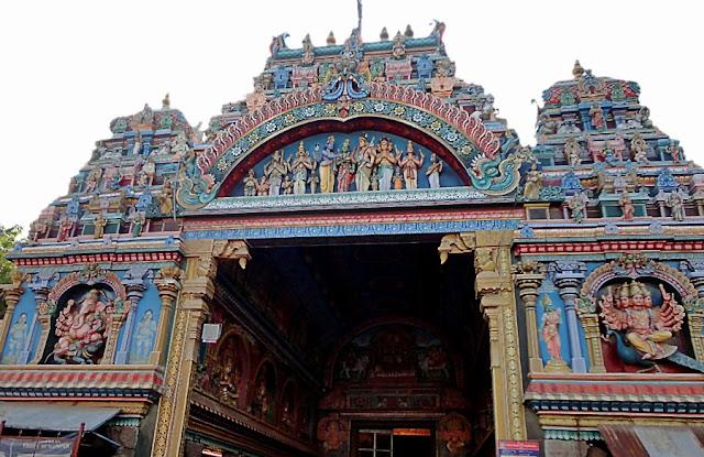 ancient sculptures in Tiru-alavai in Madurai Tamil Nadu