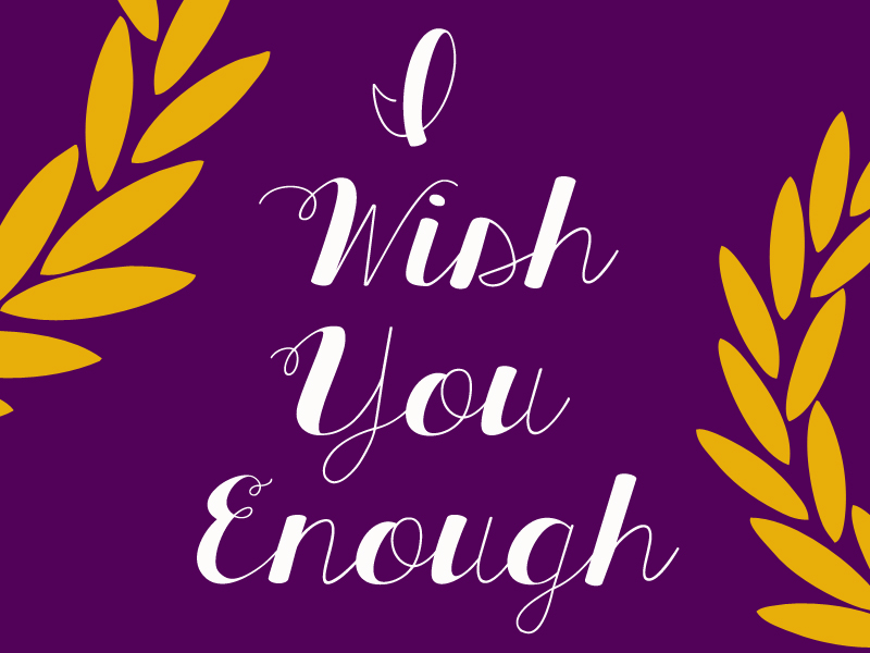 Jack and Erin: I Wish You Enough
