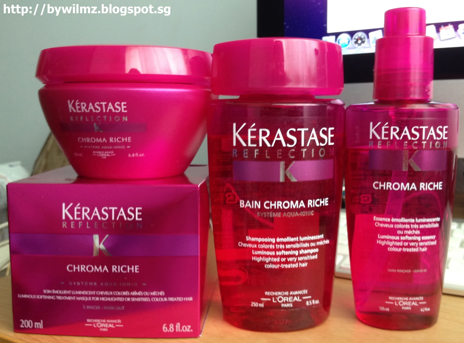 My own will k rastase reflection bain chroma riche for Kerastase reflection bain miroir 1