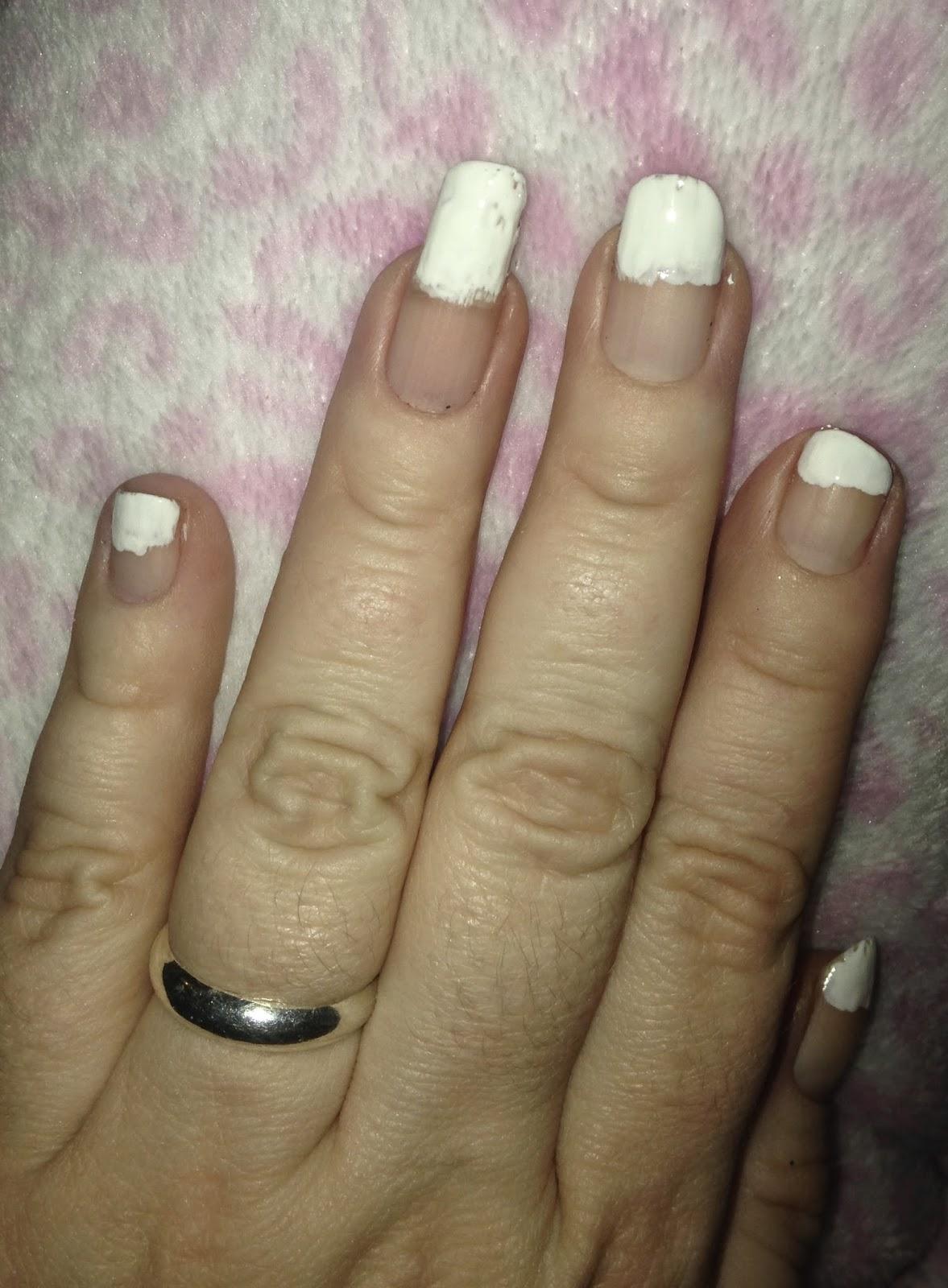 Beautiful French Manicure Valentine Nails Inspiration - Nail Art ...