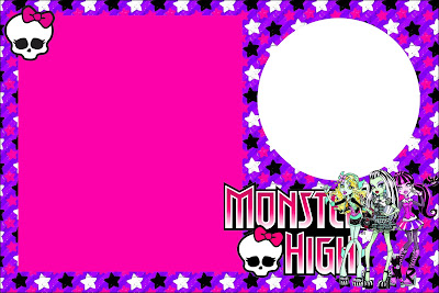 monster high free printable party invitations.  is it for, Birthday card