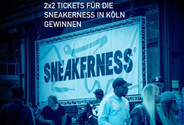 Gewinnt 2x2 Tickets für die größte Sneakermesse 'Sneakerness' am 10. und 11. Oktober im X-Post zu Köln | Atomlabor Blog Sneaker Tipp