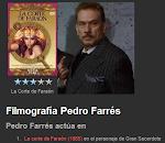 """Pedro Farres en la pelicula """"La corte del faraon"""""""
