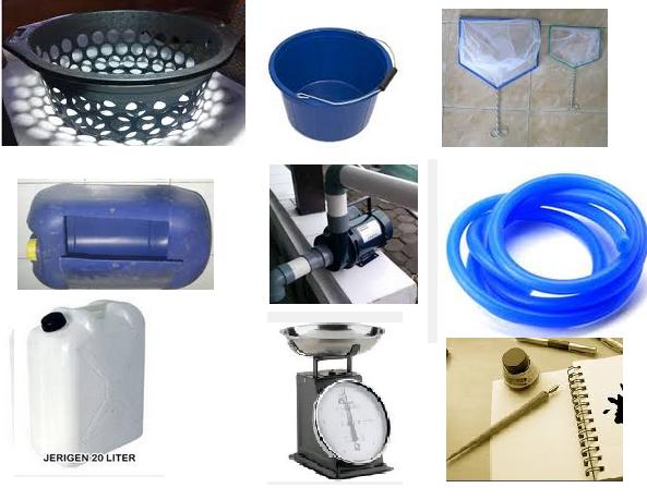 Peralatan Yang Digunakan Untuk Budidaya Lele