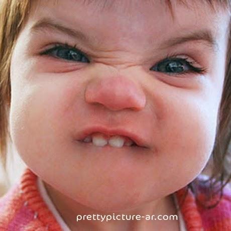 صورة طفلة مضحكة
