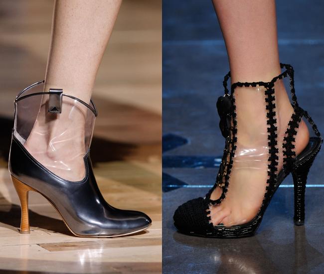 pvc shoe trend 2012