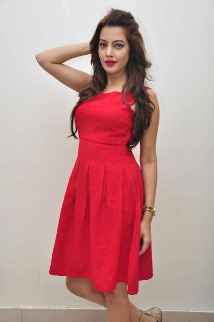 Diksha Panth Stills At Soggade Chinni Nayana Audio Launch