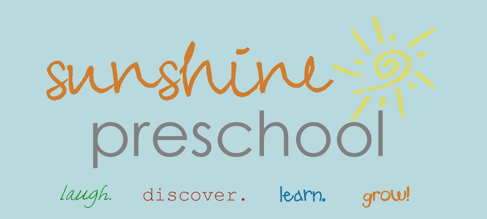 Sunshine Preschool!