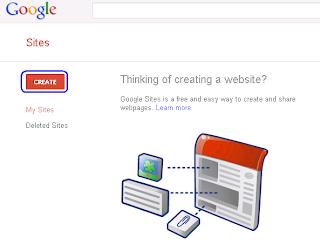 Google Site - Free Blog Titorial
