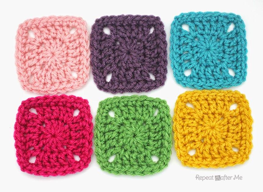 Crochet Squares : Repeat Crafter Me: Pixel Crochet Squares