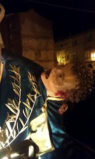 Detalle de la semana santa de Calatayud