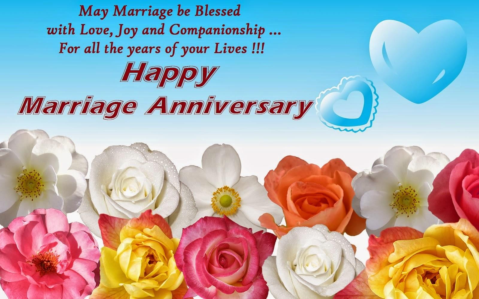 SMS Bon anniversaire de mariage au couple