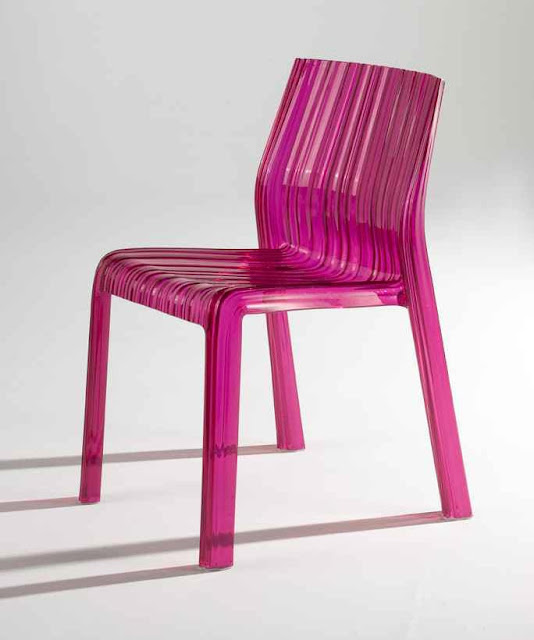 fuchsia kartell frilly chair 2modern Nbaynadamas modern furniture hot pink